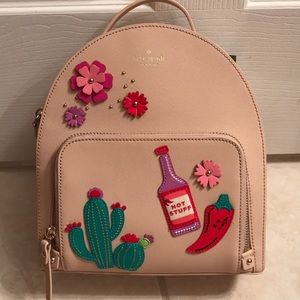 Kate Spade cactus Toni backpack-NWT